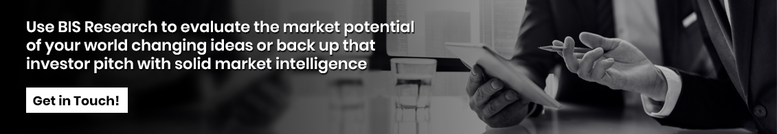 Use BIS Research to evaluate the market potential of your world changing ideas or back up that investor pitch with solid market intelligence